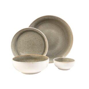 Resona Moss 16 Piece Dinnerware Set Service for 4  sc 1 st  Wayfair & Cottage u0026 Country Dinnerware Sets Youu0027ll Love   Wayfair