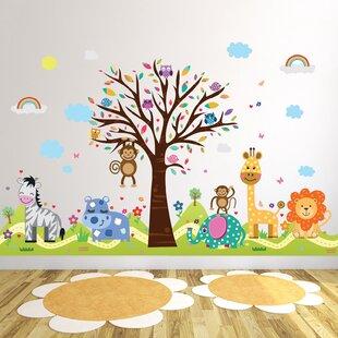 4dbf420e2 Gunter Happy London Zoo and Happy Hills Wall Sticker