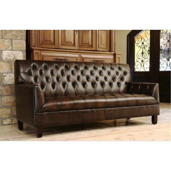 Perfect Wapiti Ridge Bonded Leather Sofa