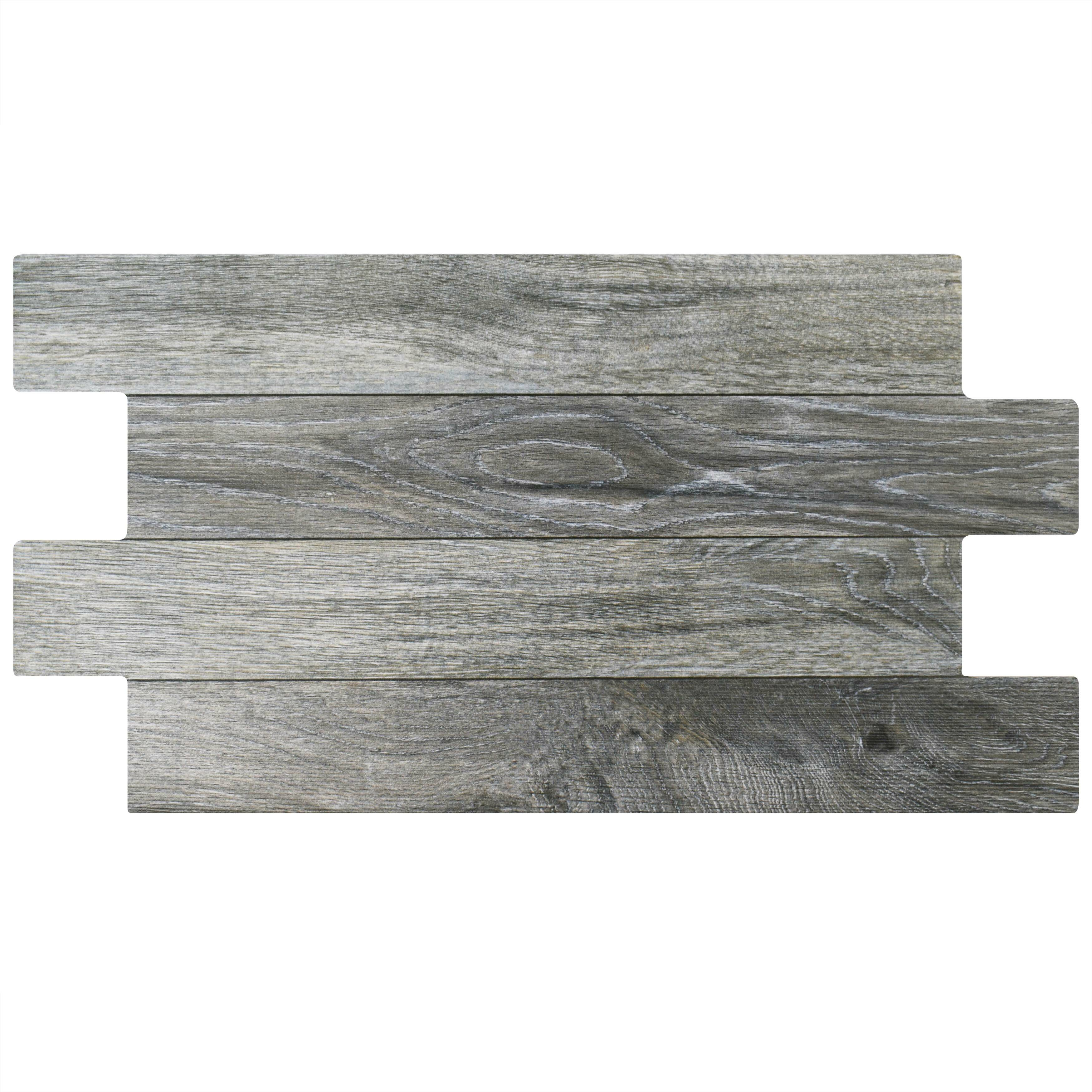 "EliteTile Moscow 12.25"" X 23.63"" Porcelain Wood Look/Field"