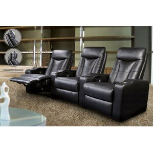 Wildon Home ? St. Helena Home Theater Seating (Row of 3) Image