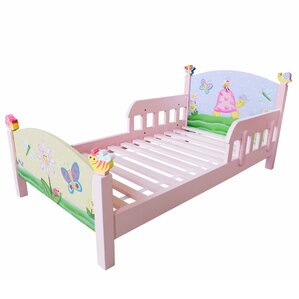 Magic Garden Panel Toddler Bed by Fantasy Fields