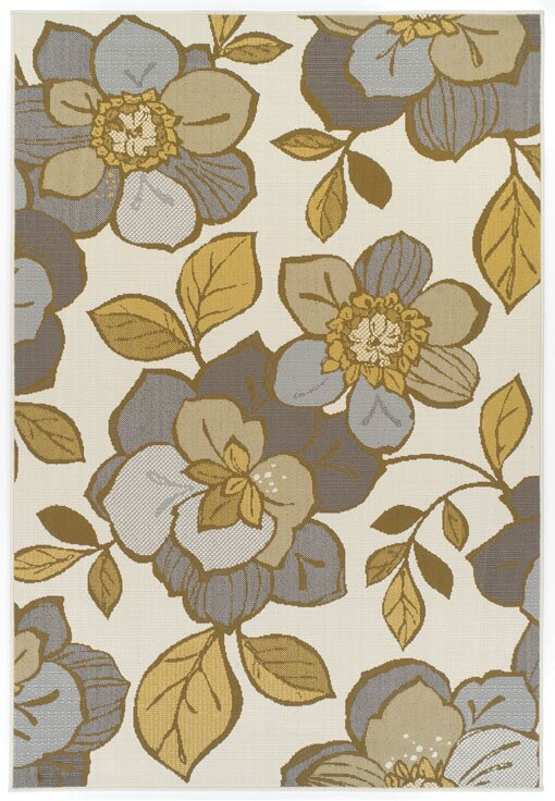 theko handgewebter teppich holiday in beige gr n. Black Bedroom Furniture Sets. Home Design Ideas