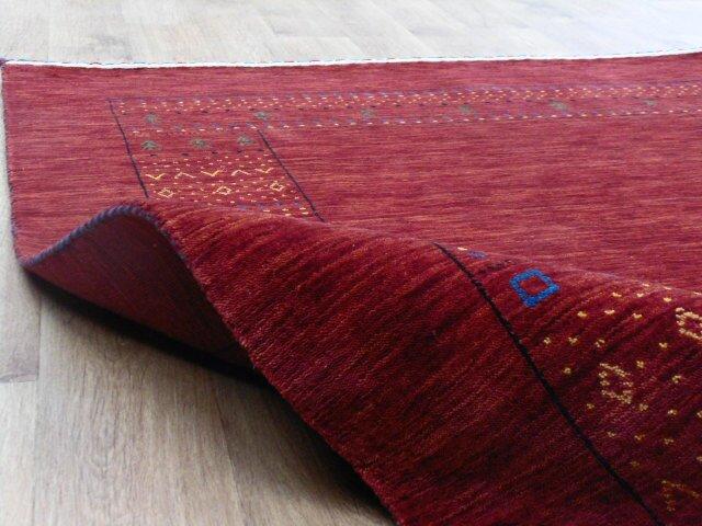 brick barrow handgefertigter teppich aus wolle und baumwolle in rot bewertungen. Black Bedroom Furniture Sets. Home Design Ideas