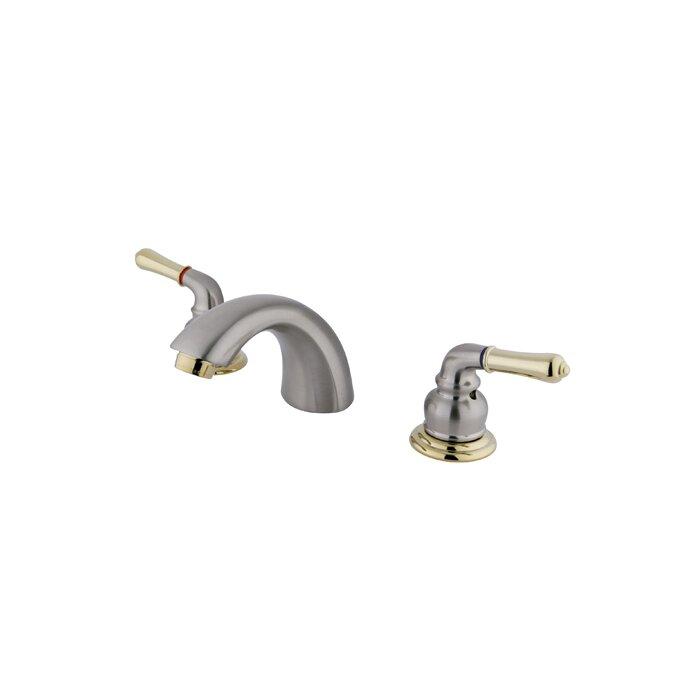 Magellan Double Handle Widespread Bathroom Faucet