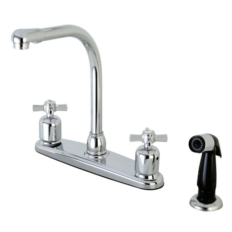 Kingston Brass Millennium Hot Cold Water Dispenser Double Handle