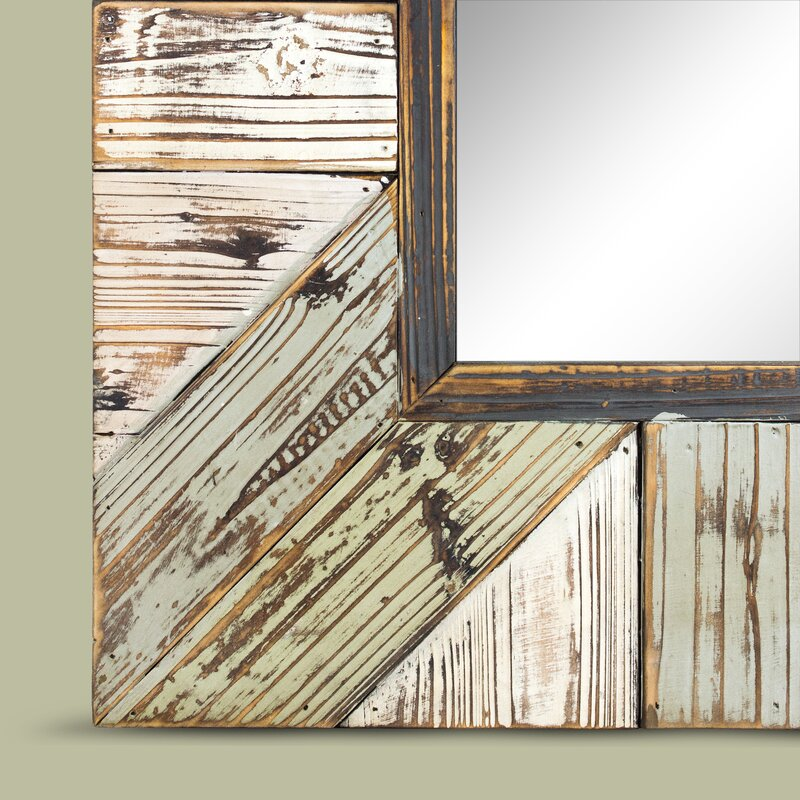 Union Rustic Whitlock Rustic Wood Plank Rectangular Framed Wall ...