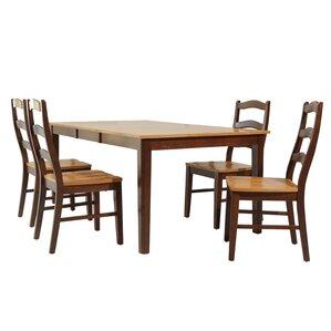 Stettler 5 Piece Dining Set by TTP Furnish