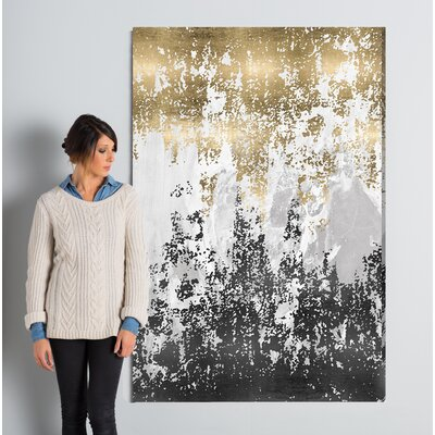 Wrought Studio 'Had a Moment' Painting Print on Wrapped Canvas Size: 60 H x 40 W x 2 D