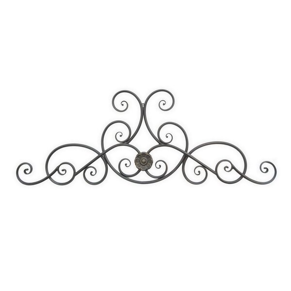 Fleur De Lis Living Scroll Metal Wall Décor | Wayfair