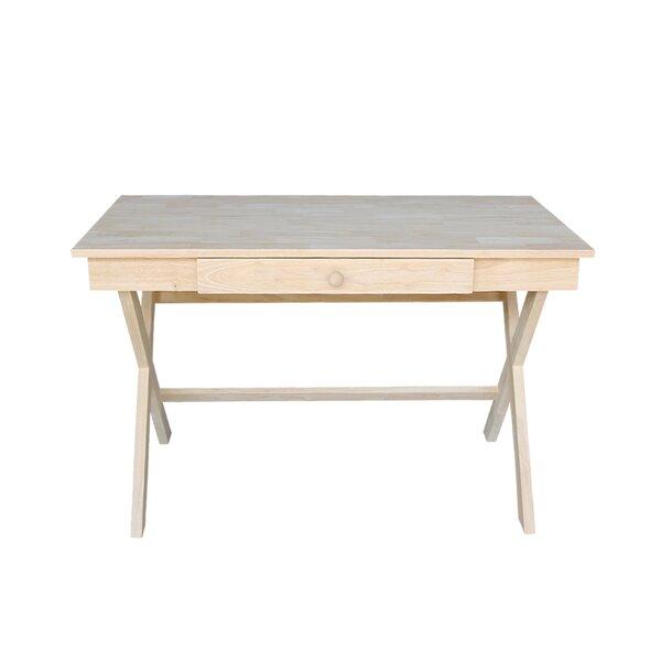 Desk With Cross Legs | Wayfair
