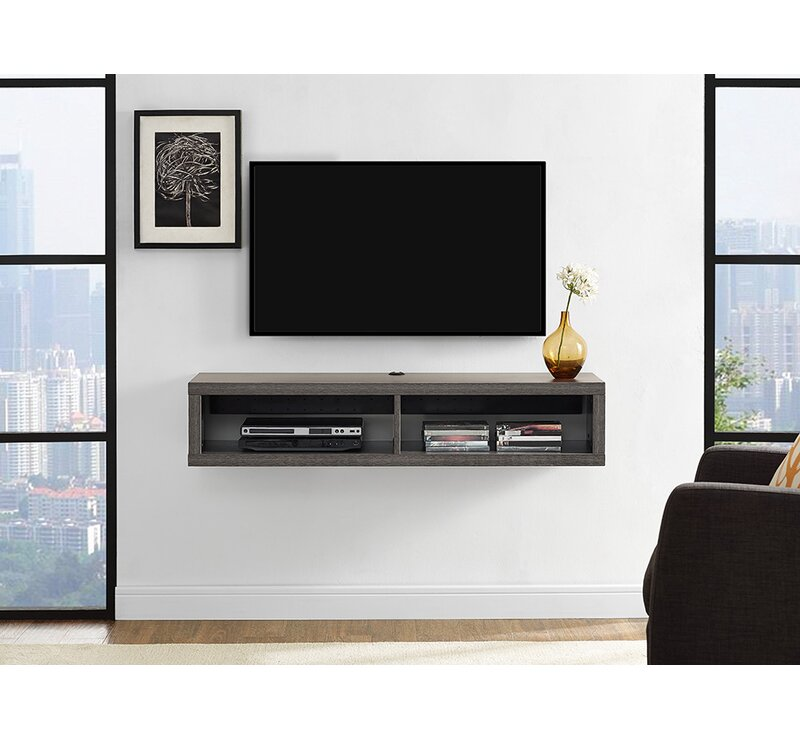 Shallow Wall Mounted Tv Stand For Tvs Up To 49