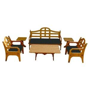 Burliegh Solid 9 Piece Lounge Seating Gro..
