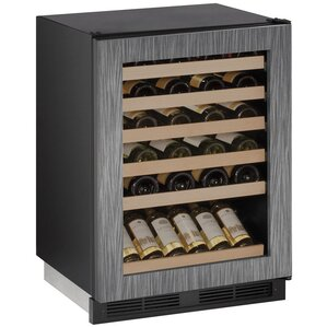 48 Bottle 2000 Series Single Zone Freestanding Wine Cooler by U-Line