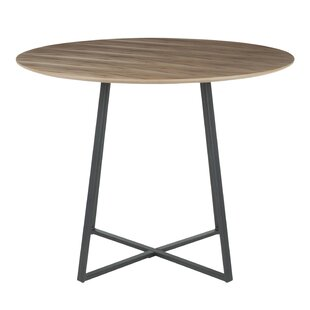 Shonda Contemporary Solid Wood Dining Table