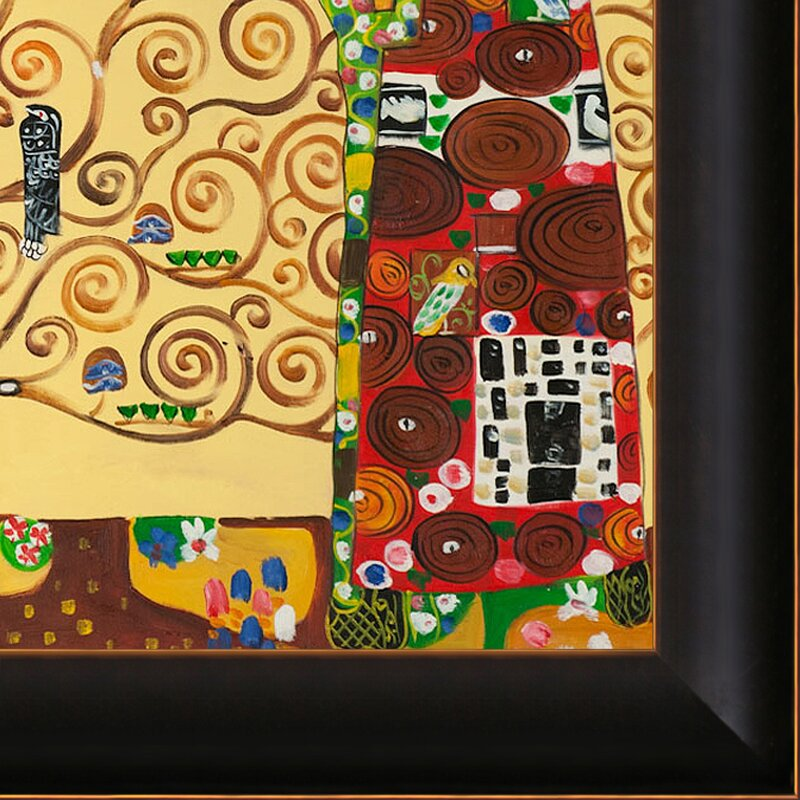 Tori Home The Tree of Life, Stoclet Frieze by Klimt Framed Hand ...