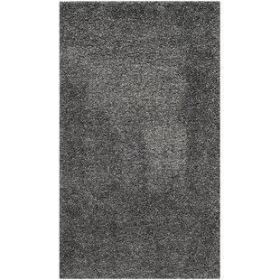 Maya Flokati Dark Gray Area Rug