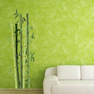 Wonderful Bamboo Bushes Wall Decal