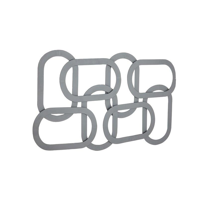 Orren Ellis Contemporary Overlapping Oval Wall Decor | Wayfair