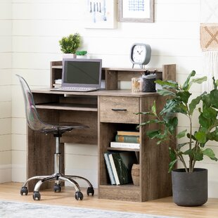Charmant Solid Oak Computer Desk | Wayfair