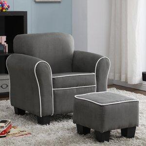 Aalborg Kids Chair and Ottoman