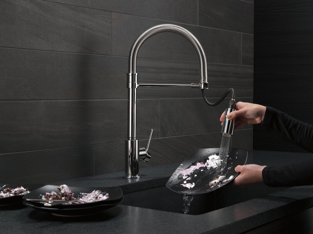 100+ [ Single Handle Pull Down Kitchen Faucet ] | Decorating Wall ...
