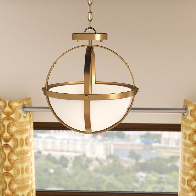Haworth 2 Light Globe Pendant