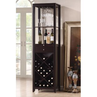 Kinnard Smart Looking Bar with Wine Storage  sc 1 st  Wayfair & Display Cabinet With Wine Rack | Wayfair