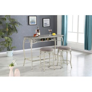 Brookeville 3 Piece Dining Set