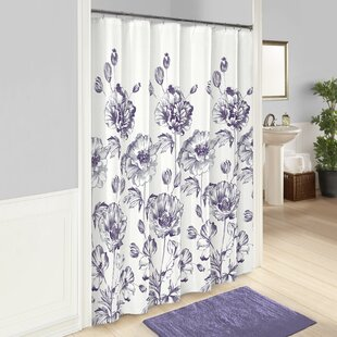 Amiya 100 Cotton Single Shower Curtain