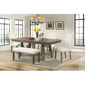 dining room set with bench.  Kitchen Dining Benches You ll Love Wayfair