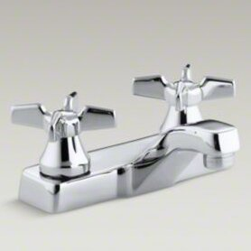 KKECP Kohler Triton Centerset Commercial Bathroom Sink Faucet - Commercial bathroom sinks and faucets