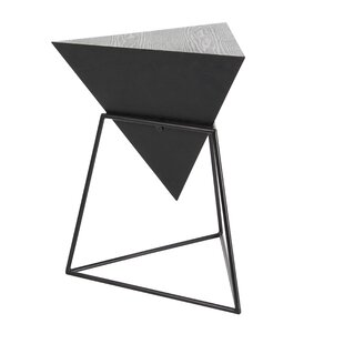 Modern Black Triangle End Side Tables AllModern - Black triangle end table