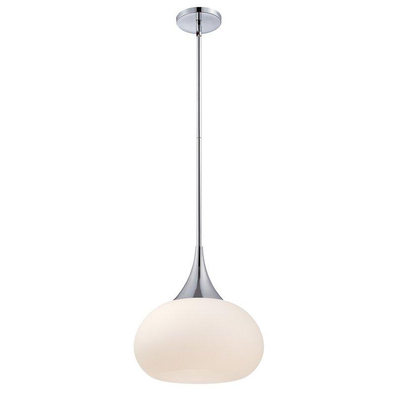 backus 1light globe pendant