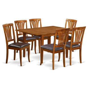 Lorelai 7 Piece Dining Set Cheap