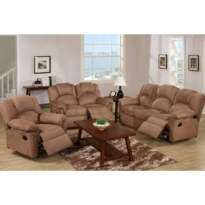 A&J Homes Studio Johnson 3 Piece Living Room Set