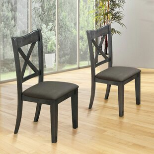 Felica Solid Wood Dining Chair (Set of 2)