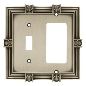 pineapple single switch gfcirocker wall plate - Decorative Switch Plates