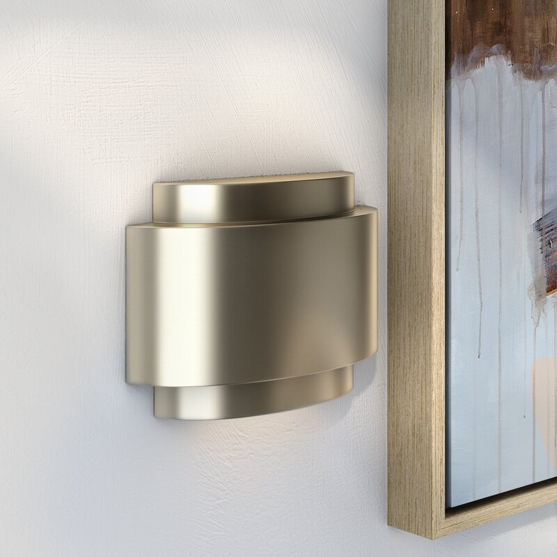 Contemporary Door Chime in Stainless Steel & Wade Logan Contemporary Door Chime in Stainless Steel u0026 Reviews ...