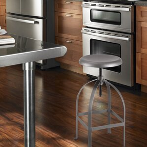 Logan Adjustable Height Bar Stool by Adec..