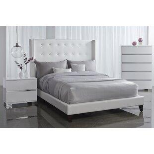 Rieke King Upholstered Platform Bed
