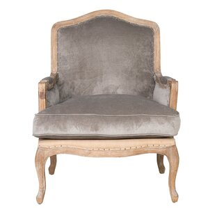 Guillotte Wood Armchair by One Allium Way