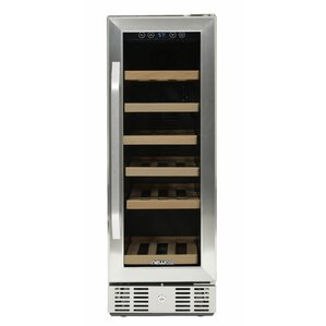 19 Bottle Single Zone Built-In Wine Cooler by NewAir