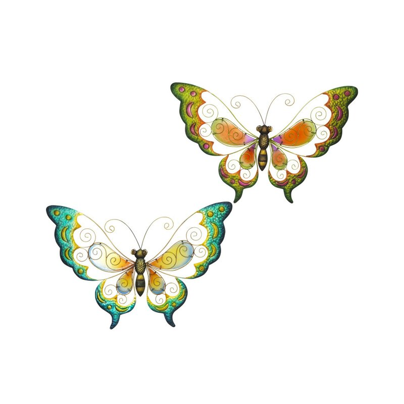 Metal Butterfly Wall Décor