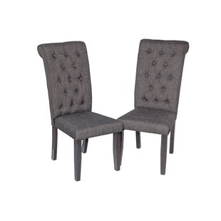 Two Sturdy Upholstered Dining Chair (Set of 2)
