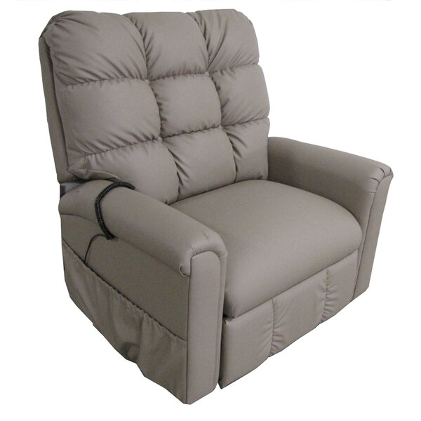 Comfort Chair Company American Series Petite Power Lift Assist Recliner u0026 Reviews | Wayfair  sc 1 st  Wayfair : recliners with lift - islam-shia.org