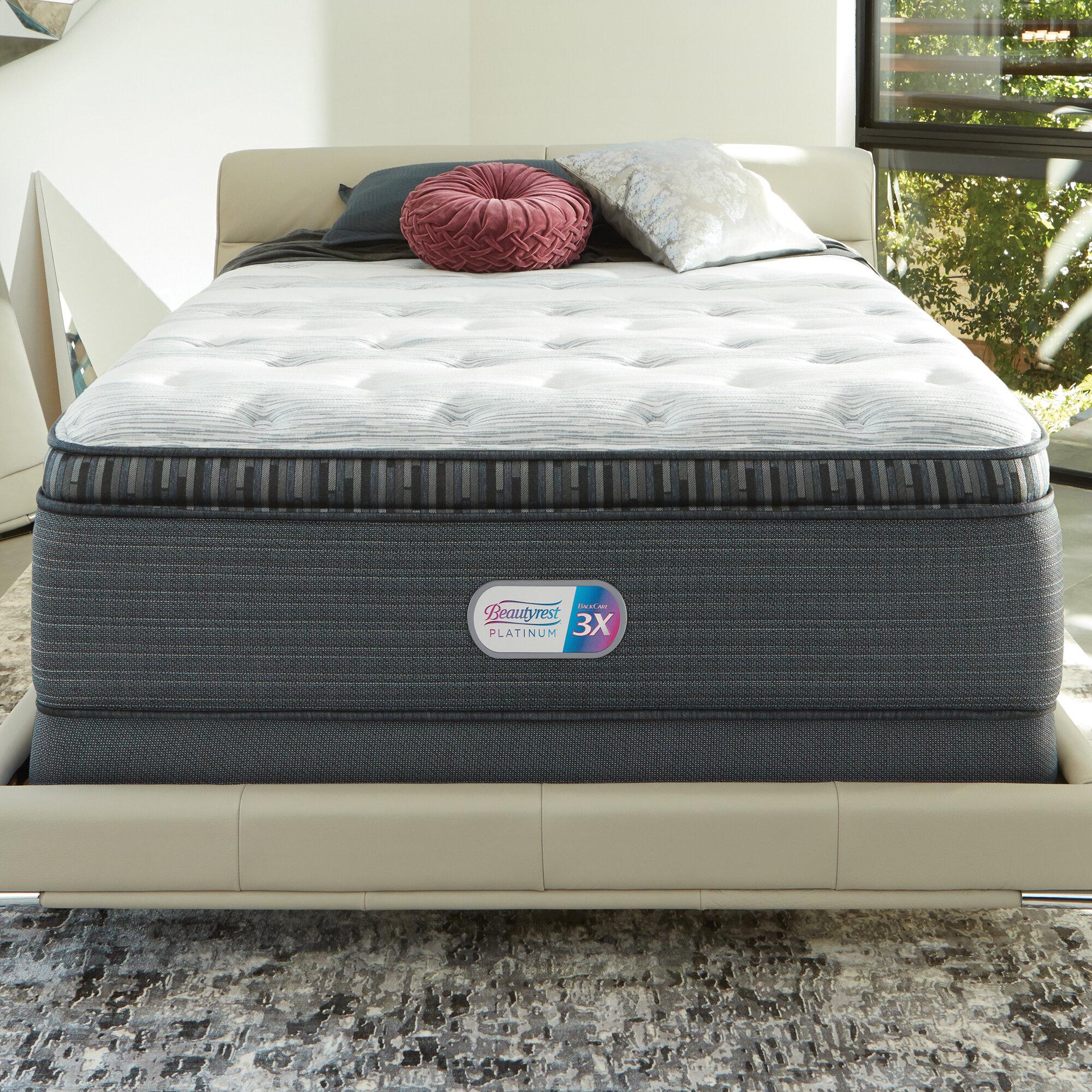 Simmons Beautyrest Beautyrest Platinum 16 Plush Pillow Top Mattress
