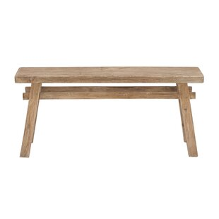 Crader Wooden Bench