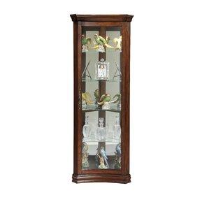 Nannie Concave Corner Curio Cabinet