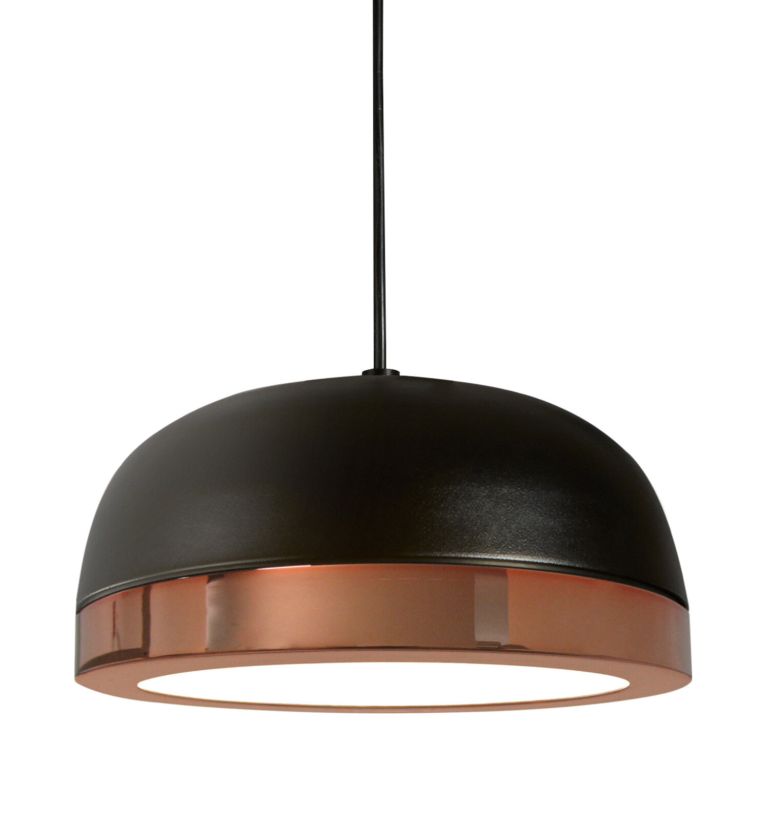 Oggetti Tooy Molly 1 Light Led Dome Pendant Wayfair